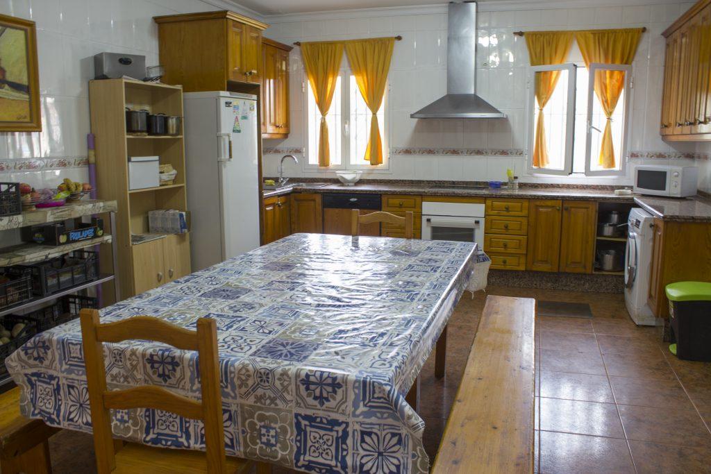 Asociación Mará cocina/comedor